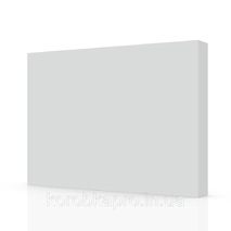 Белая коробка для постельного белья 455х330х60 мм для печати