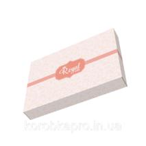 Картонная упаковка для постельного белья Royal 455х330х60 мм