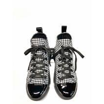 Кеды молодежные кожаные чёрно-белые, 39, 102-19.05
