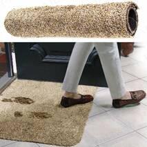 Cупервпитывающий Придверной Коврик Delxo Clean Step Mat Original 70*45 см Влагопоглощающий Ковер из Микрофибры
