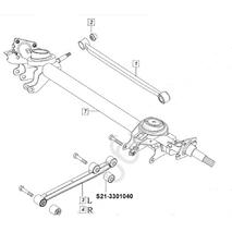 Чери Джаги сайлентблок рычага заднего продольного (двойной) усиленный