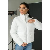 LUREX Модная куртка-пуховик - белый цвет, L