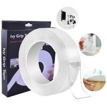 Багаторазова Кріпильна Клейка Стрічка Ivy Grip Tape Original - Надсильний Монтажний Двосторонній Скотч