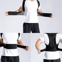 Якісний Коректор Осанки, Корсет для Спини Spine Back Support Belt Original - Ортопедичний Жилет, що Коригує, Бандаж