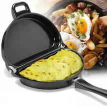 Подвійна Антипригарна Сковорідка для Омлету Bradshaw Folding Omelette Pan Original - Сковрода - Омлетница