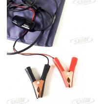 Електроковдра ЄКВ - 2/12 (ковдра електрична автомобільна від прикурювача або клем акумулятора)