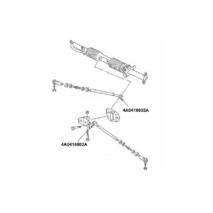 Ауди 100 А6 втулка рулевой тяги