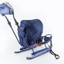 Санчата Adbor Piccolino DeLux (Повний комплект санчат) Синій