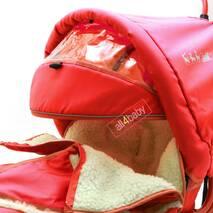 Санчата Adbor Piccolino DeLux (Повний комплект санчат) Червоний