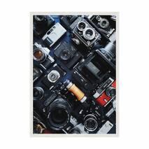 """Постер """"Фото"""" с антибликовым стеклом 42 x  59.4 см в белой рамке"""