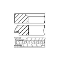 Вольво 340-480 двигатель 1.7 кольца поршневые стандарт