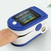 Пульсоксиметр на палець eHealth LYG88 Original (2020) Точний Медичний Професійний вимірник пульсу і кисню