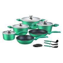 Набір кухонного посуду з литого алюмінію 15 предметів Edenberg  EB - 5623 (69-231)