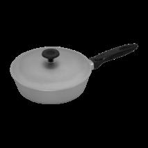 Сковорода алюмінієва  з рифленим дном 200 мм (65-135)