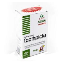 Зубочистка 1000 шт в индивидуальной упаковке без ментола Normeta(44-196)