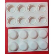Форма для випічки  силіконова  - 8 шт    3155 (74-1307)
