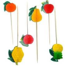 Шпаги  бамбукові  Фрукти 100 шт (44-89)
