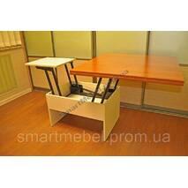 Механизм трансформации стола трансформера BOOK light