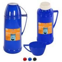 Термос 1 л із скляною колбою 208 (45-34)