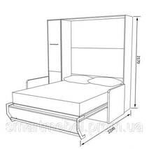 Шкаф-кровать HELFER PLUS 160 - K2