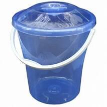 Відро  пластмасове Элегант 6 л з кришкою   (25-90)