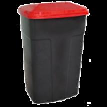 Бак  сміттєвий пластиковий 90 л (25-48)