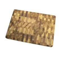 Доска разделочная деревянная торцевая Кедр ДРТ- 350  350х250х35 мм