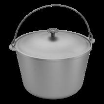 Казан  10 л  кухонно-туристичний  алюмінієвий з дужкою (65-288)