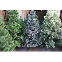Искусственная Сосна темно-зеленая 1,8 м + Гирлянда в подарок. Новогодняя елка, сосна 180 см