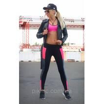 Спортивные лосины M,L,XL (44-46,46-48,48-50) Женские для танцев фитнеса спорта тренировок Розовый