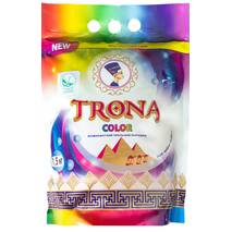 Порошок пральний безфосфатний TRONA Color 1,5 кг