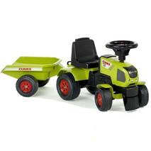 Трактор каталка з причепом Claas Axos Falk 1012b