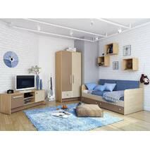 Дитяча кімната для хлопчика Акварелі коричневі