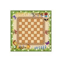 Стол парта +ящик с шахматной доской для детей