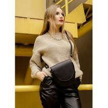 Жіноча сумка бананка кроссбоди Sambag  SKH чорний