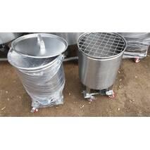 Бочки на колесах для сыпучих продуктов