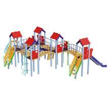 Детская  игровая  площадка мульти башенная Жабка