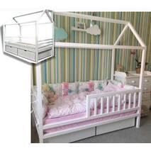 Будиночок ліжко з ящиками Рио стандарт S