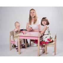 Стол парта детская трансформер Креатив (мебель для девочки)