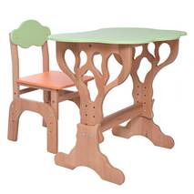 """Детский столик и стульчик """"Дубок"""" растишка (оранжевый)"""