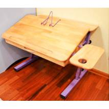 Парта стіл растишка з 2 полицями (вже з новими ніжками)