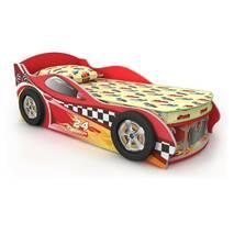 Детская кровать машинка без ниши-ящика