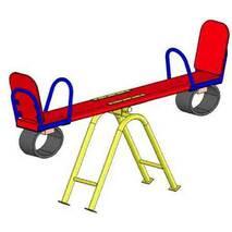 Детские качели балансир (малая) на площадку игровую
