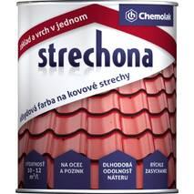 """Фарба Chemolak для чорного та оцинкованого металу """"Strechona"""" 5,2 кг. (коричнева) АКЦІЯ!"""