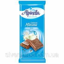 Шоколад Alpinella молочный (Milk) 90г (1/25)