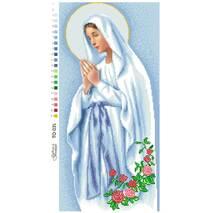 Схема для вышивки бисером Барвиста Вышиванка Мария непорочного зачатия 28х59 (ТО035ан2859)
