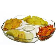 Блюдо- менажница   Pasabahce Basic 30,2 см 10473 (24-77)