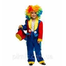 Детский карнавальный костюм Клоуна для детей 5,6,7,8,9,10 лет 344