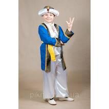 Детский карнавальный костюм Султана для мальчков 6,7,8,9,10,11 лет 344