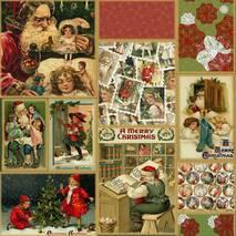 Ткань Рождество для скатертей, штор, подушек хлопок